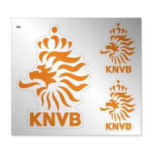 オランダ代表 シルバーステッカー|footballfan