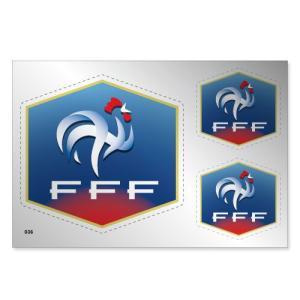 フランス代表 シルバーステッカー|footballfan