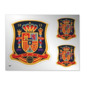 スペイン代表 シルバーステッカー|footballfan