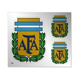 アルゼンチン代表 シルバーステッカー footballfan