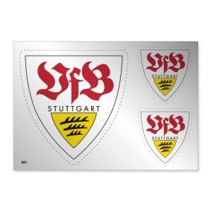 シュツットガルト シルバーステッカー|footballfan