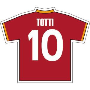 トッティ(ASローマ 10)ユニフォームステッカー|footballfan
