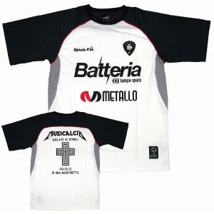 SPAZIO スパッツィオ プラクティスシャツ【Metallo】ホワイト[GE-0052-01]|footballfan