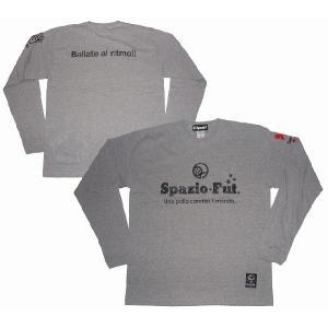 SPAZIO スパッツィオ ロングTシャツ(長袖)【定番SPAZIO】杢グレー[TP-0110-18]|footballfan