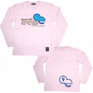 SPAZIO スパッツィオ ロングスリーブ(長袖)Tシャツ【ORANTE】ライトピンク[TP-0065-11]|footballfan
