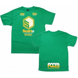SPAZIO【スパッツィオ】 Scatt ポリ Tシャツ/グリーン[TP-0152-19]|footballfan