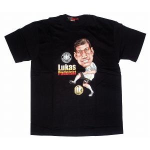 ポドルスキ ドイツ代表 Tシャツ(黒)|footballfan