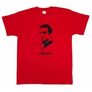 エリック・カントナ/THE KING Tシャツ(赤)|footballfan