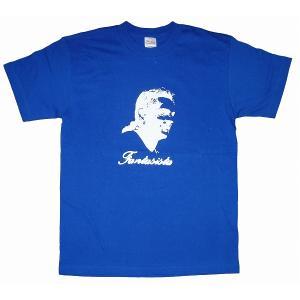 ロベルト・バッジオ/Fantasista Tシャツ(青)|footballfan