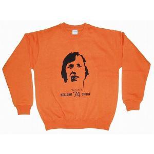 クライフ CRUYFF/オランダ代表(ミュンヘン74) トレーナー(オレンジ)|footballfan