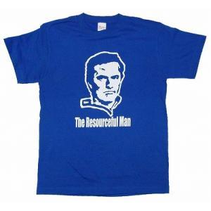 モウリーニョ -The Resourceful Man- Tシャツ(青)|footballfan