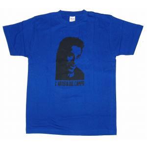 デルピエロ -L'Artista Del Campo- Tシャツ(青)|footballfan