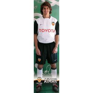 バレンシア(オフィシャル) アイマール 等身大ポスター|footballfan