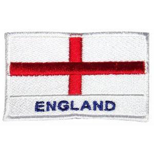 イングランド代表(ENGLAND+セントジョージクロス) ワッペン|footballfan