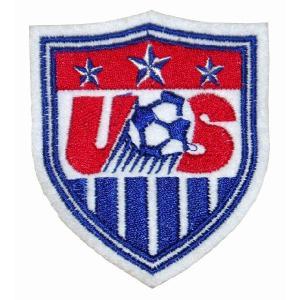 アメリカ代表 エンブレムワッペン|footballfan