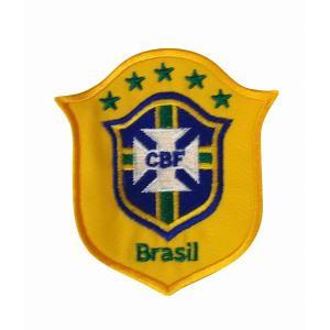 ブラジル代表 エンブレムワッペン|footballfan