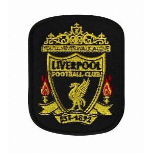 リバプール(黒) エンブレムワッペン|footballfan