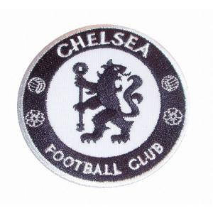 チェルシー(白×黒) エンブレムワッペン|footballfan