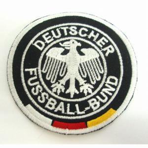 ドイツ代表(黒) エンブレム ワッペン footballfan