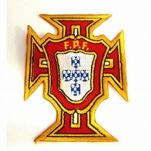 ポルトガル代表(赤×黄) エンブレムワッペン|footballfan