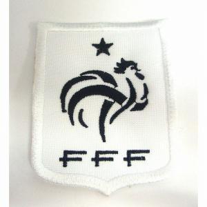 フランス代表(白) エンブレム ワッペン|footballfan