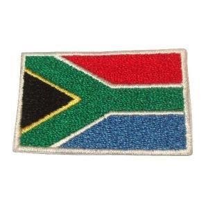 南アフリカ 国旗・ワッペン(小) footballfan