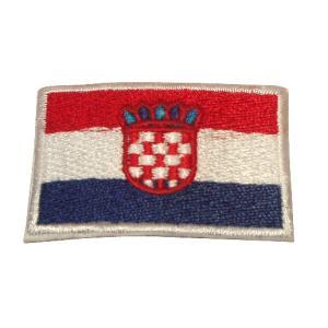 クロアチア 国旗・ワッペン(小)|footballfan