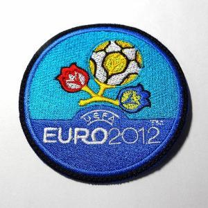 EURO2012(丸型) ワッペン|footballfan