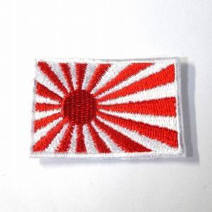 日本(旭日旗) 国旗・ワッペン(小)|footballfan