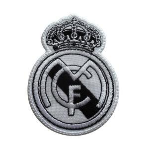 レアルマドリッド(白×黒) エンブレムワッペン〔wap290〕|footballfan