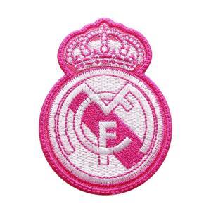 レアルマドリッド(ピンク) エンブレムワッペン〔wap293〕|footballfan