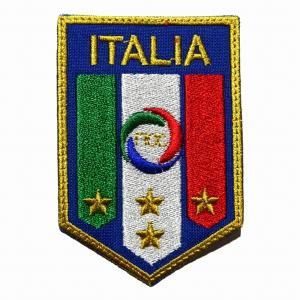 イタリア代表 エンブレムワッペン〔wap318〕|footballfan