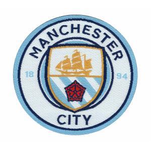 マンチェスターシティA エンブレムワッペン〔wap335〕|footballfan