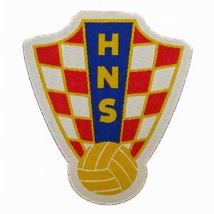 クロアチア代表 エンブレムワッペン〔wap377〕|footballfan