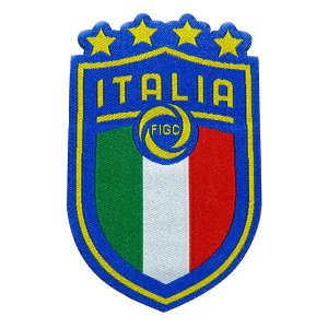 イタリア代表B エンブレムワッペン〔wap380〕|footballfan