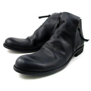アルジス ブーツ ARGIS サイドジップブーツ メンズ 12112 〔BLACK〕|footmonkey