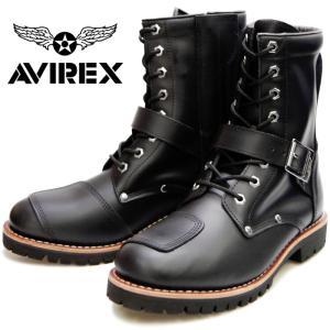AVIREX YAMATO AV2100 アビレックス ブーツ ヤマト BLACK メンズ レディー...