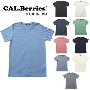 カルベリーズ CAL.Berries CAL EASY CREW NECK 35tj001 tシャツ 半袖 クルーネック|footmonkey