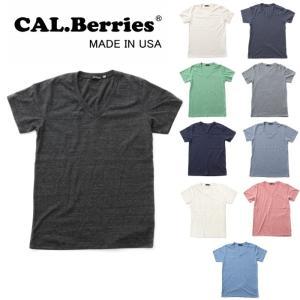 カルベリーズ CAL.Berries CAL EASY V NECK 35tj002 tシャツ 半袖 Vネック|footmonkey