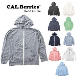 カルベリーズ CAL.Berries SAIL AWAY HOODIE 35tj006 パーカー 長袖 薄手|footmonkey