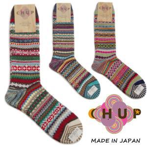 チュプ 靴下 CHUP DOMA ドーマ ≪メンズ≫ ソックス 日本製|footmonkey