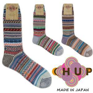 チュプ 靴下 CHUP KEVAT ケヴァット ≪メンズ≫ ソックス 日本製 ハイソックス クルーソックス|footmonkey