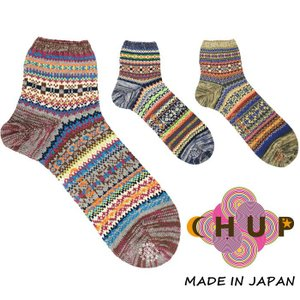 チュプ 靴下 CHUP VALBORG ヴァルボリ ≪メンズ≫ ソックス 日本製 ショート スニーカーソックス|footmonkey
