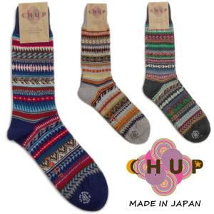 チュプ 靴下 CHUP VIVIENDA ヴィヴィエンダ ≪メンズ≫ ソックス 日本製|footmonkey