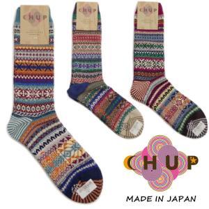 チュプ 靴下 CHUP VUOKATTI ヴォカティ ≪メンズ≫ ソックス 日本製|footmonkey