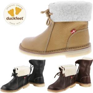 ダックフィート duckfeet DN1310 ダンスク DANSKE ショートブーツ ボアブーツ レディース カジュアルシューズ 本革 ボア付き|footmonkey