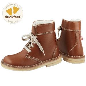 ダックフィート duckfeet DN4610 ダンスク DANSKE レースアップブーツ メンズ レディース ボアブーツ カジュアルシューズ 本革 ボア付き|footmonkey