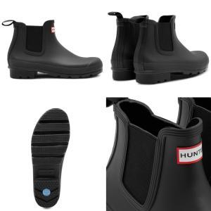 ハンター レインブーツ ショート HUNTER MFS9075RMA オリジナル チェルシーブーツ サイドゴアブーツ メンズ 長靴 防水 正規品|footmonkey|03