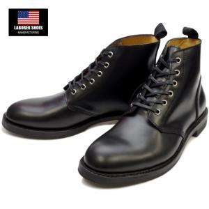 レイバラーシューズ LABORER SHOES OXFORD BOOTS DERBY LS70CL902 ブラック|footmonkey