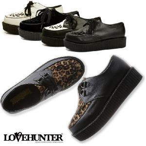 厚底 ラバーソール LOVE HUNTER ラブハンター 1700 メンズ カジュアルシューズ|footmonkey